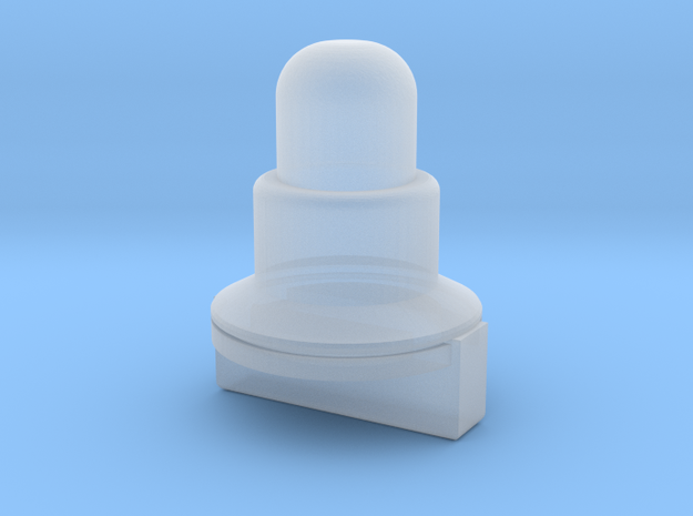 MB-48 antenna base, bottom in Smooth Fine Detail Plastic