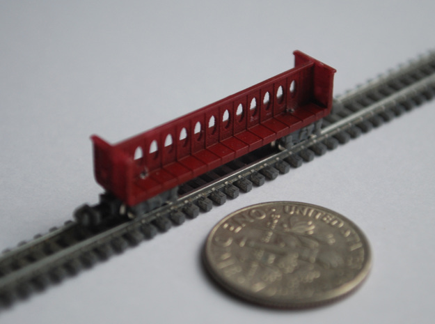 T Gauge 8 Center Beam Set in Frosted Extreme Detail