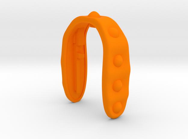 KEY FOB #49  in Orange Processed Versatile Plastic