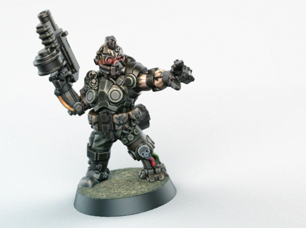 Space Mercenary - 28mm Heroic