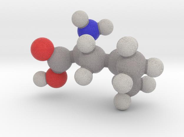 L-leucine in Full Color Sandstone