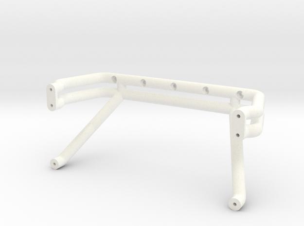 Bigfoot 7 roll bar in White Processed Versatile Plastic
