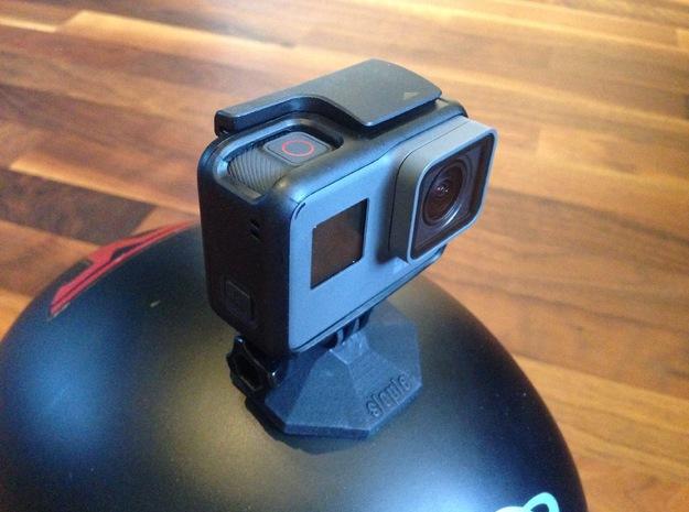 GoPro SaHeMo (Safe Helmet Mount) in Black Natural Versatile Plastic