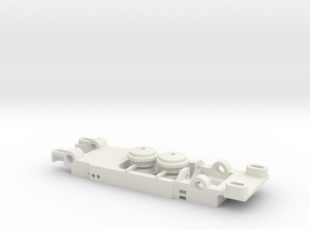 Carrera Universal 132 Chevrolet Corvette Sting Ray in White Natural Versatile Plastic