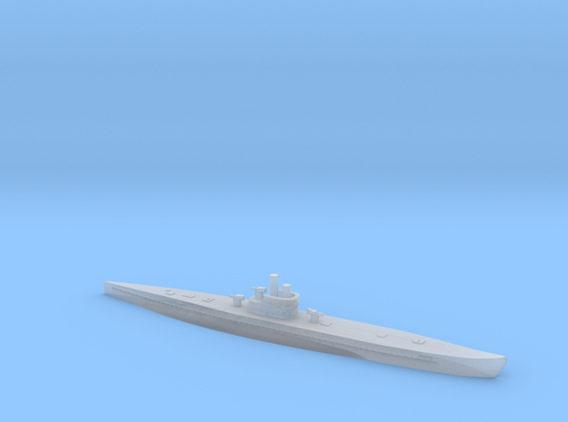 1/1200 Uboat XIV in Smooth Fine Detail Plastic