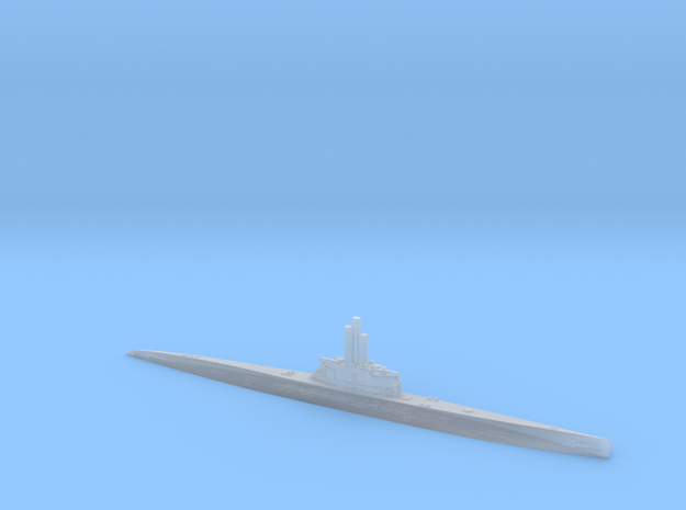 1/1200 Uboat XXI in Frosted Ultra Detail