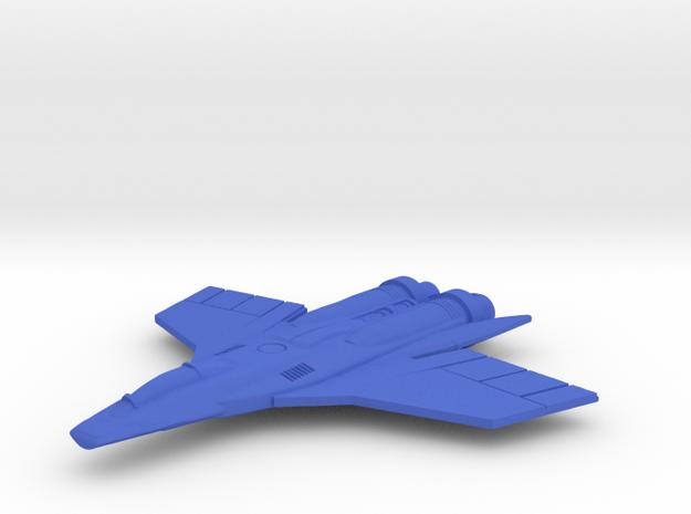 Sky Hawk Space Fighter  in Blue Processed Versatile Plastic