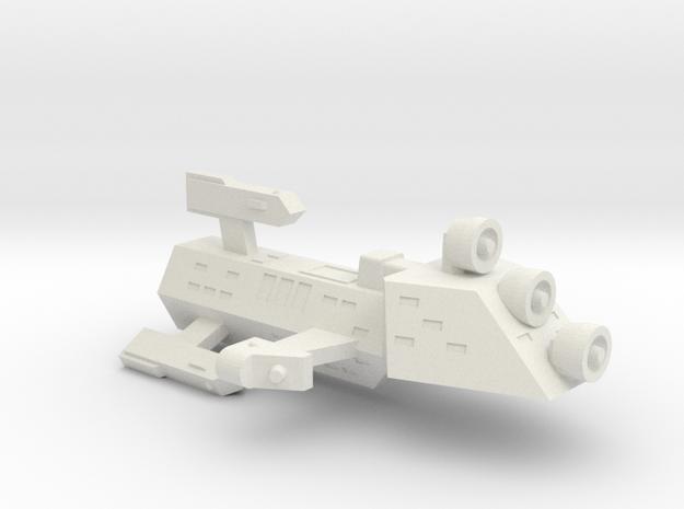 3788 Scale Kzinti Scout Frigate SRZ in White Strong & Flexible