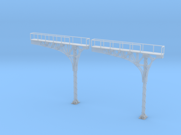 N Scale ATSF Style Cantilever 2pc Lefthand Running