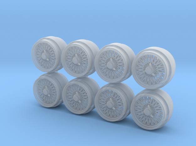SSR Supermesh Spinner Cap Hot Wheels Rims in Smoothest Fine Detail Plastic