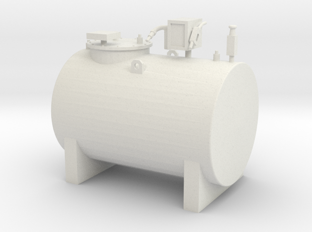 Diesel tank 2000L 1/32 in White Natural Versatile Plastic