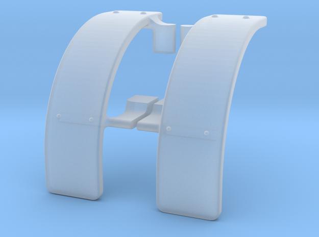 Fiat Kotflügel in Smooth Fine Detail Plastic
