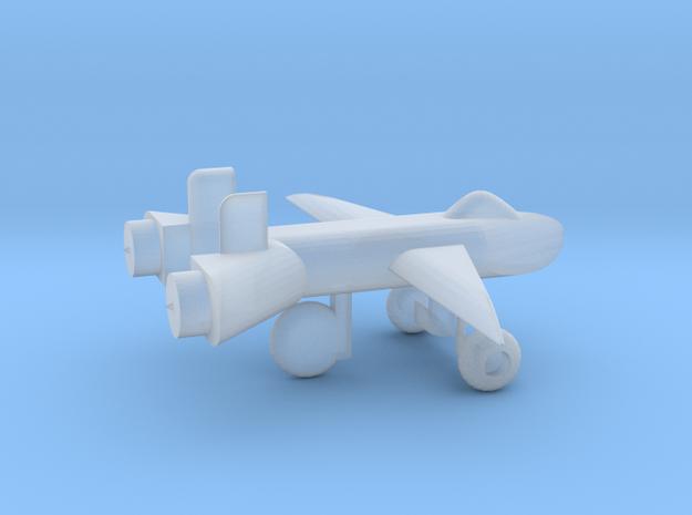 Jet w/ landing gear in Smooth Fine Detail Plastic