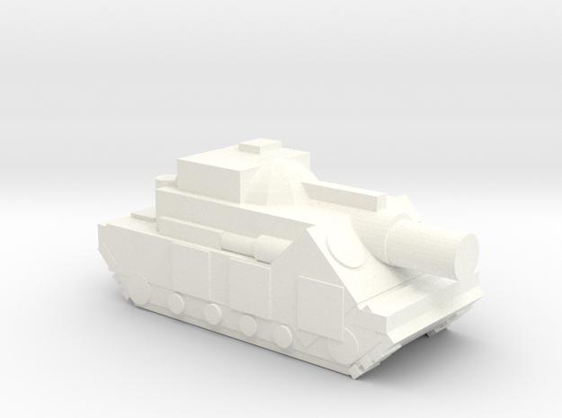 (Free DWNLD) Slugger Siege Tank  in White Processed Versatile Plastic