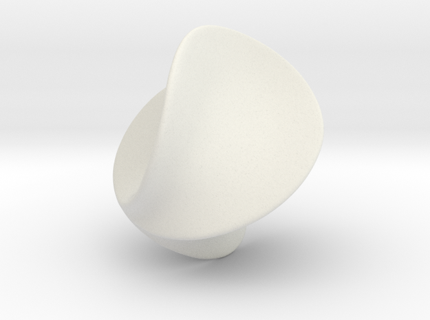 Verona Sphere in White Strong & Flexible
