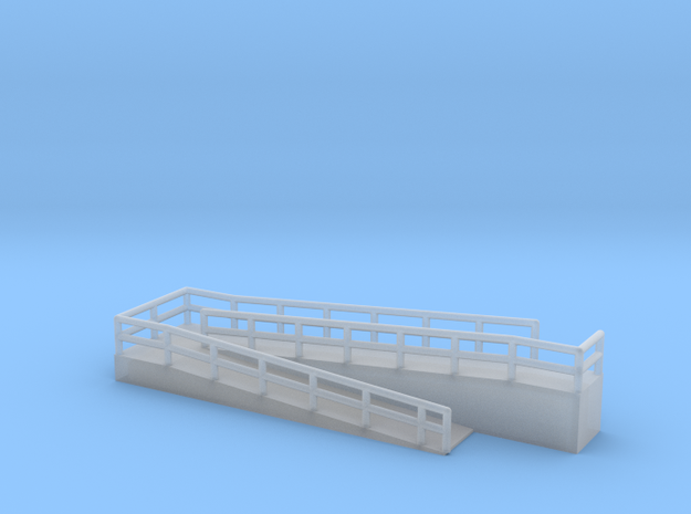 Z Scale Wheelchair Ramp 6mm in Smooth Fine Detail Plastic
