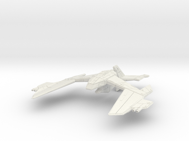 Nighteagle in White Natural Versatile Plastic
