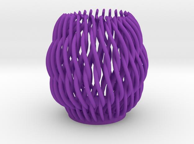 Spectacular Helicoid Mesh Vase - 10 cm