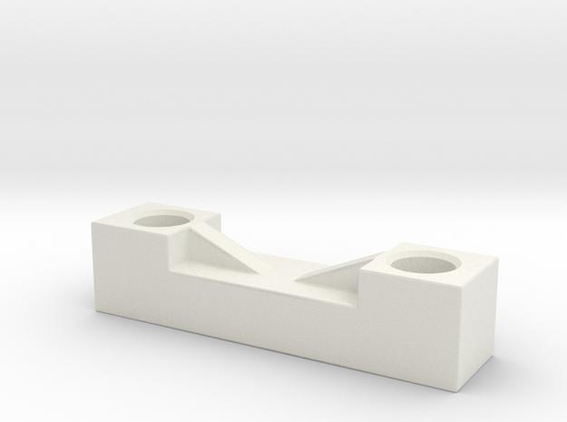 TC4 FT Bearing Cap in White Natural Versatile Plastic