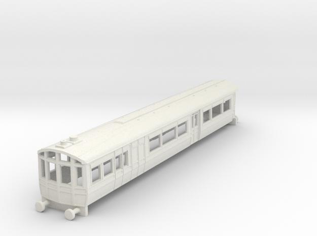 o-148-lnwr-steam-railmotor-1 in White Natural Versatile Plastic