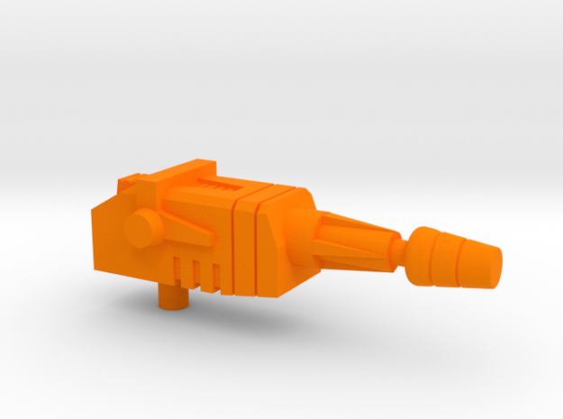 Starcom - Shadow Blast Track Sidecannon in Orange Processed Versatile Plastic
