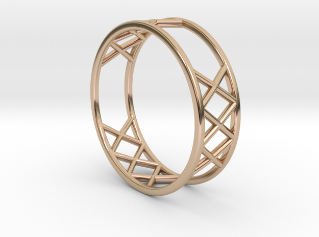 XXX Ring Size  [ 13 ] in 14k Rose Gold