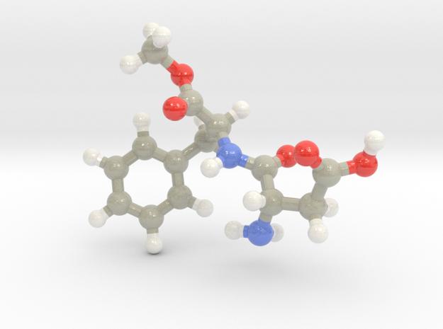 Aspartame in Glossy Full Color Sandstone