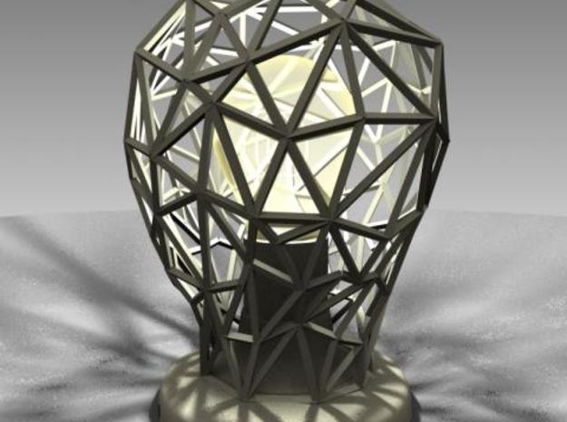 Hommage to the light bulb 3d printed 3D rendering