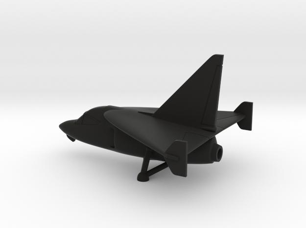 Ryan X-13 Vertijet in Black Natural Versatile Plastic: 1:144
