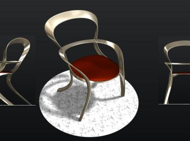 Oval Concept Chair 3d printed Oval Chair Concept