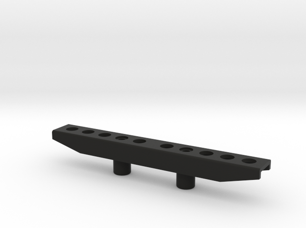 Tamiya RC Bumper for Wild Willy in Black Natural Versatile Plastic