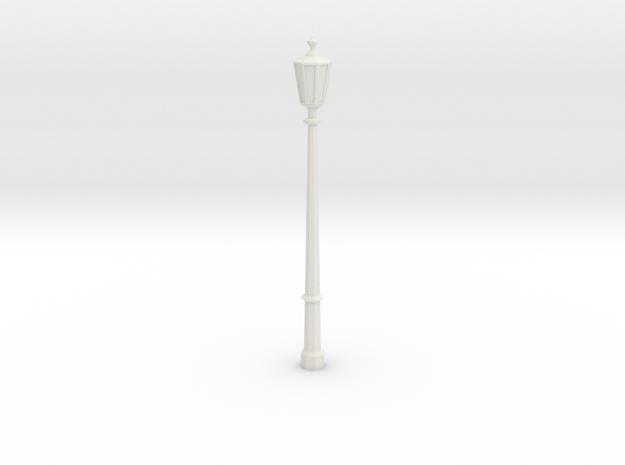 1:35 Light pole in White Natural Versatile Plastic
