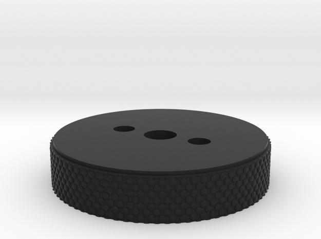 DL-44 Blaster ANH Scope Lower Wheel in Black Premium Versatile Plastic