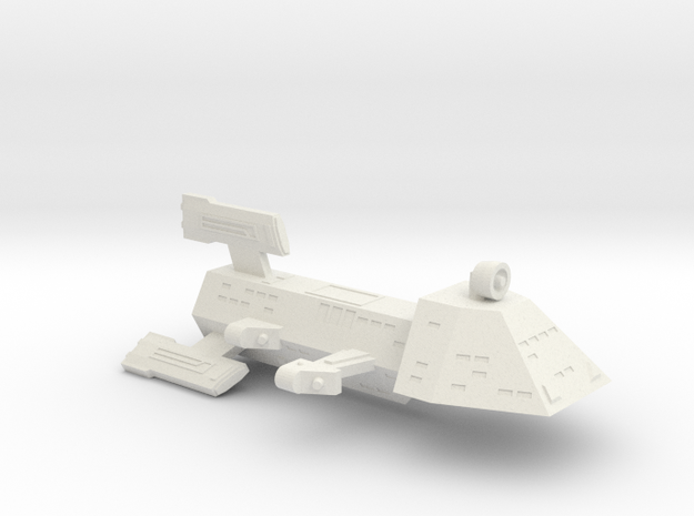 3125 Scale Kzinti Destroyer (DD) SRZ in White Strong & Flexible