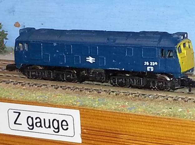Class 24 Late / Class 25 Early - Z - 1:220 3d printed finished model