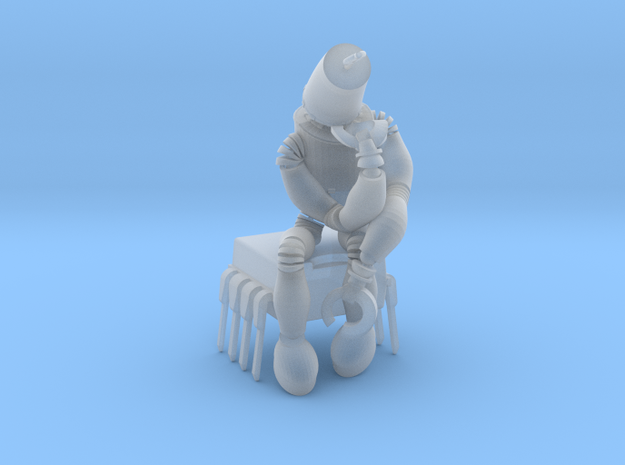 """boOpGame Shop - Auguste Rodin """" The Thinker """" in Smooth Fine Detail Plastic"""