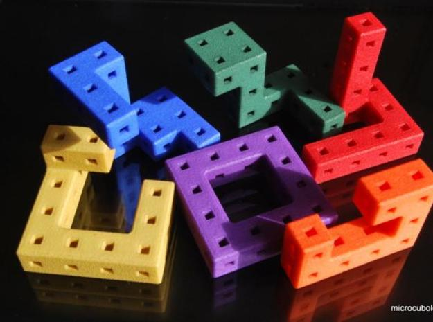 Twist the night away 3.2cm 3d printed Cube pieces