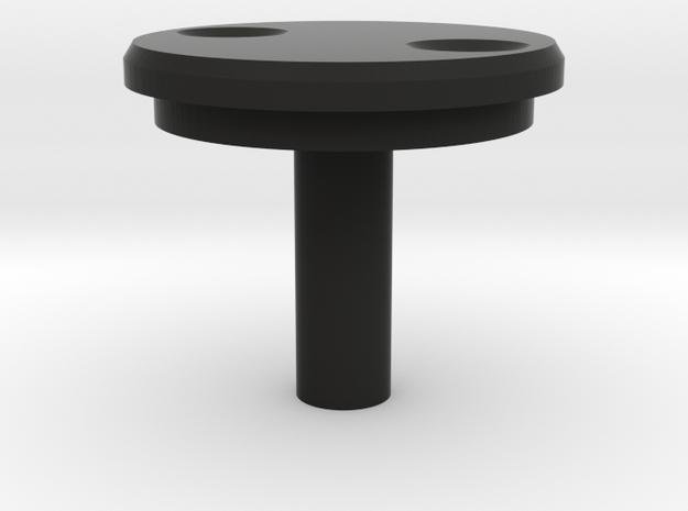 DL-44 Blaster ANH Scope Wheel Center Disc  in Black Premium Versatile Plastic