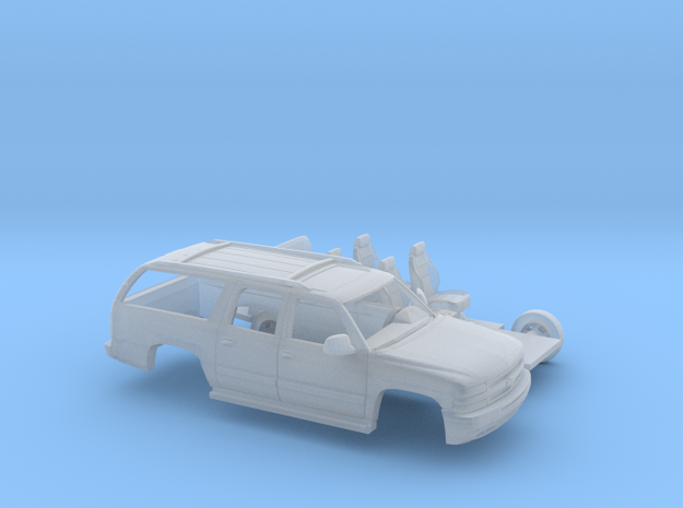 1/87 2000-06 Chevrolet Suburban Kit in Frosted Ultra Detail