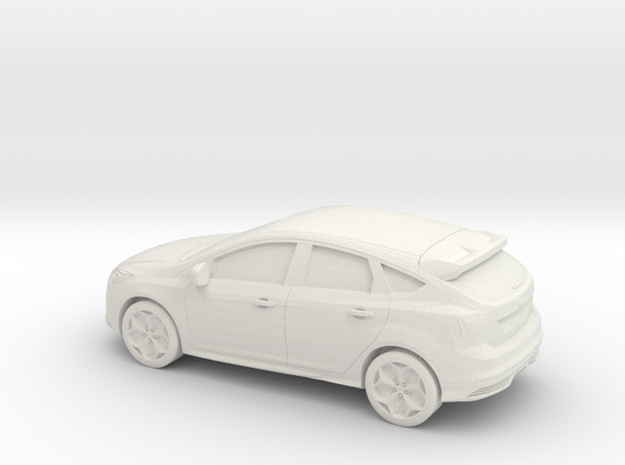 1/76 2012 Ford Focus in White Strong & Flexible