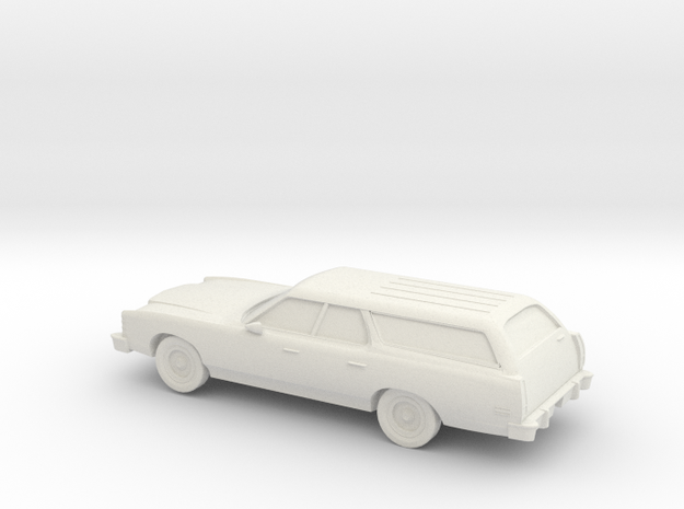 1/25 1977 Ford Country Squire in White Natural Versatile Plastic