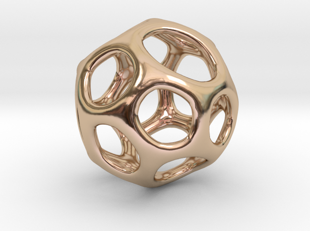 Gaia-18 (from $18.90) in 14k Rose Gold Plated Brass