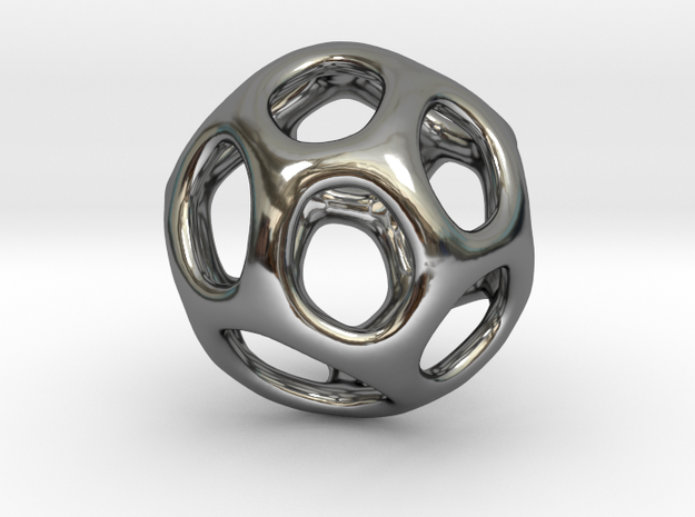 Gaia-16 (from $16.90) in Fine Detail Polished Silver