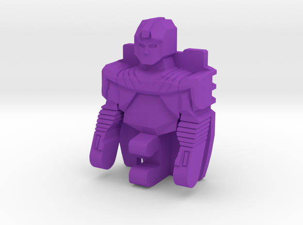 Transformers G1 Headmaster Lokos Squeezeplay UPPER in Purple Processed Versatile Plastic