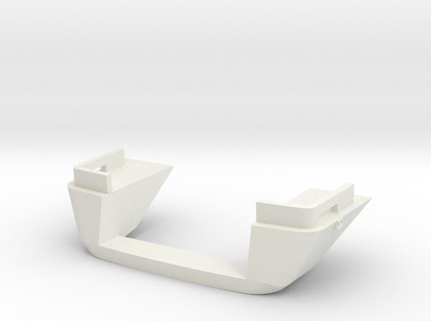 Spoiler DH1 DH2 Wadloper  scale 1:45 in White Natural Versatile Plastic