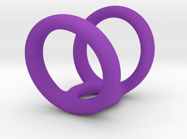 Ring for Shevonne L22 D12-78 in Purple Processed Versatile Plastic