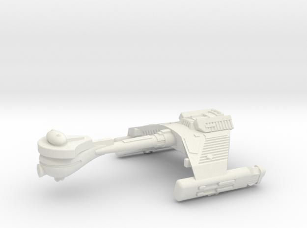 3125 Scale Klingon F5K Refitted Frigate WEM in White Strong & Flexible