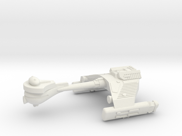 3125 Scale Klingon F5SK Refitted Scout Frigate WEM in White Natural Versatile Plastic