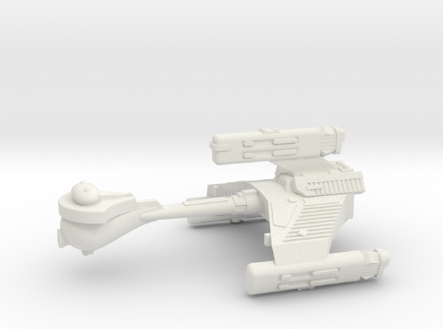 3125 Scale Klingon F6K Refitted Battle Frigate WEM in White Strong & Flexible