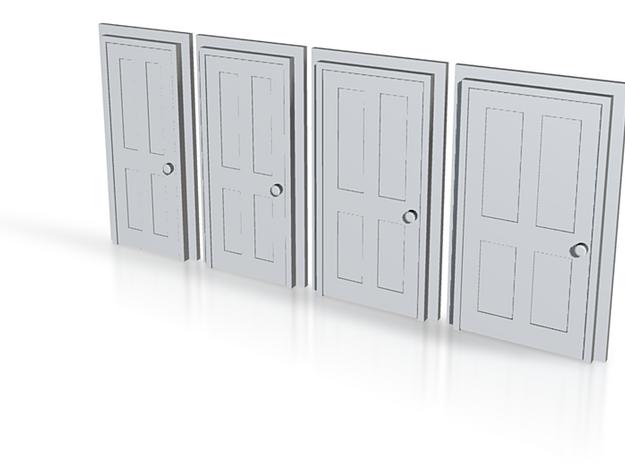 Door Type 5 - 4mm Scale 3d printed